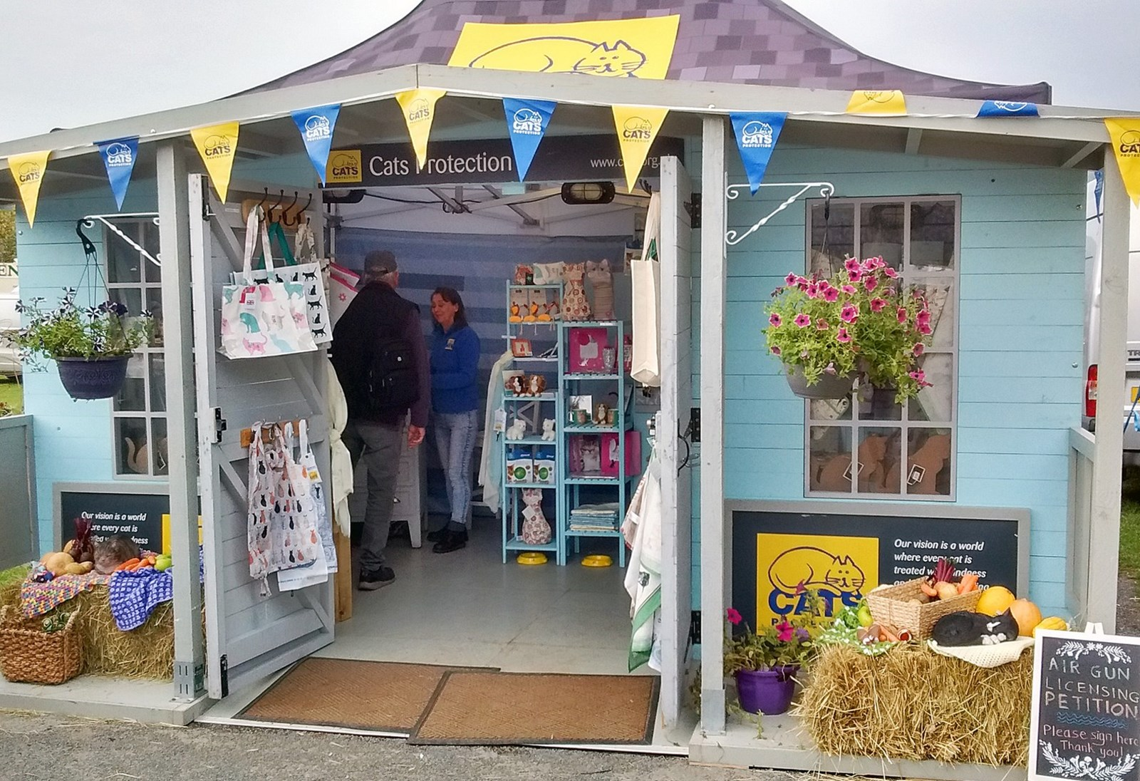 cats protection small shop