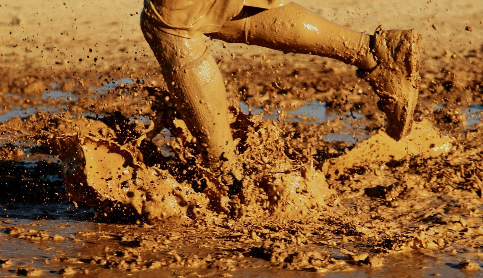 mud run challenge event