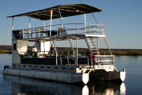 River boat on the Zambezi