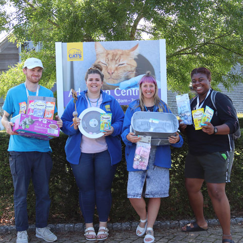 Cats Protection volunteers