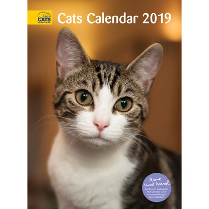 Cats Protection cats calendar 2019
