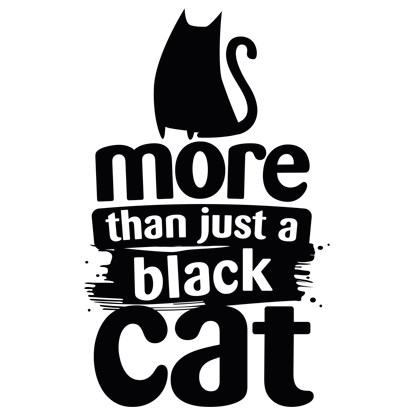 More Than Just A Black Cat logo