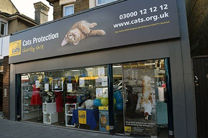 Cats Protection shop in Westcliff-on-Sea