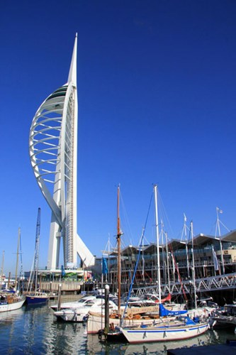 Spinnaker observation tower in Portsmouth