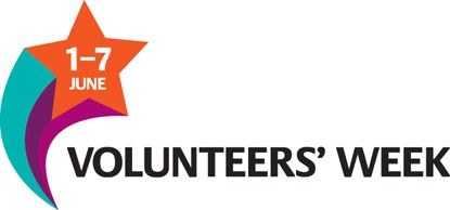 Volunteers' Week logo 1–7 June