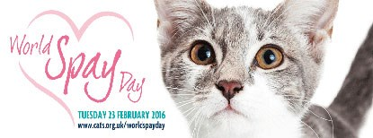 World Spay Day 2016 banner
