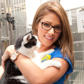 Lucy Pinder Cats Protection
