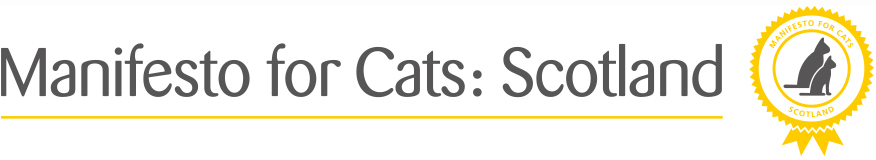 manifesto for Scotland with Cats Protection