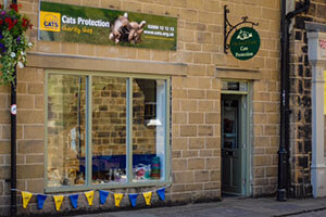 The Cats Protection Oatley Shop opening