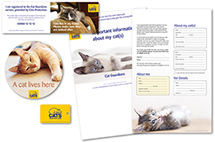 example of a cat guardians registration pack