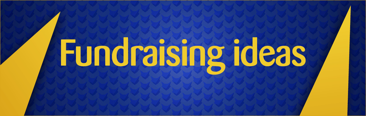 Pawsome players fundraising ideas banner