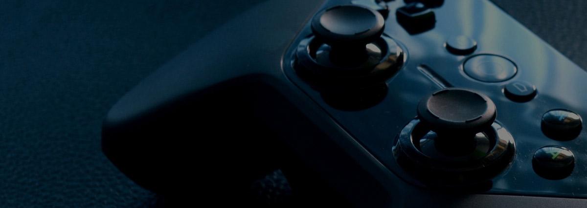 Console gamepad