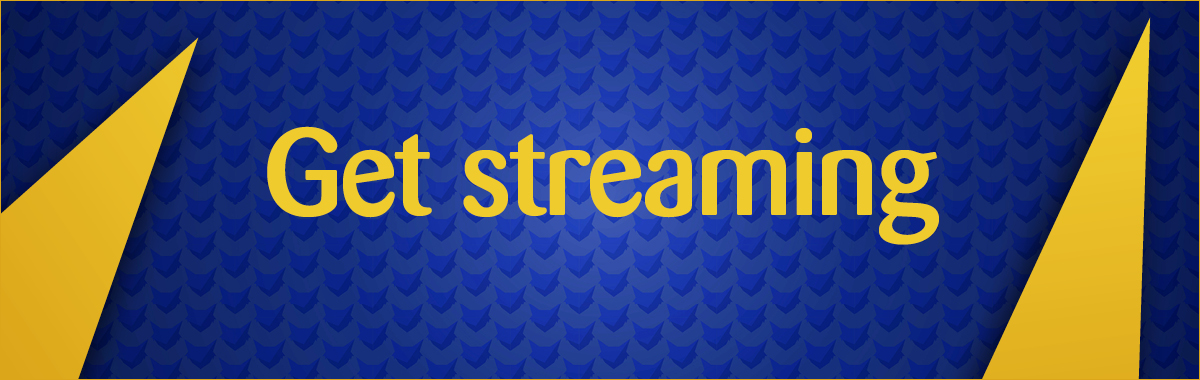 Get streaming banner
