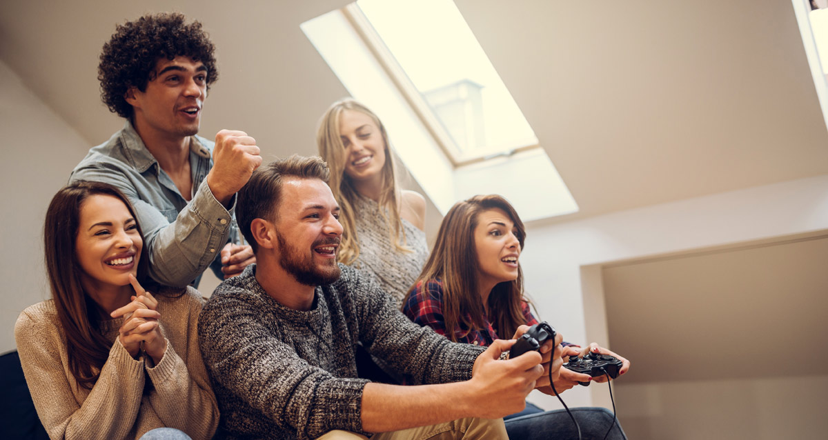 Group of people gaming