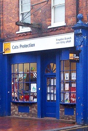 Croydon Cats Protection Shop