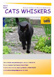 Cats Whiskers May 2015