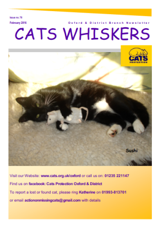 Cats Whiskers February 2016