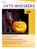Cats Whiskers November 2018