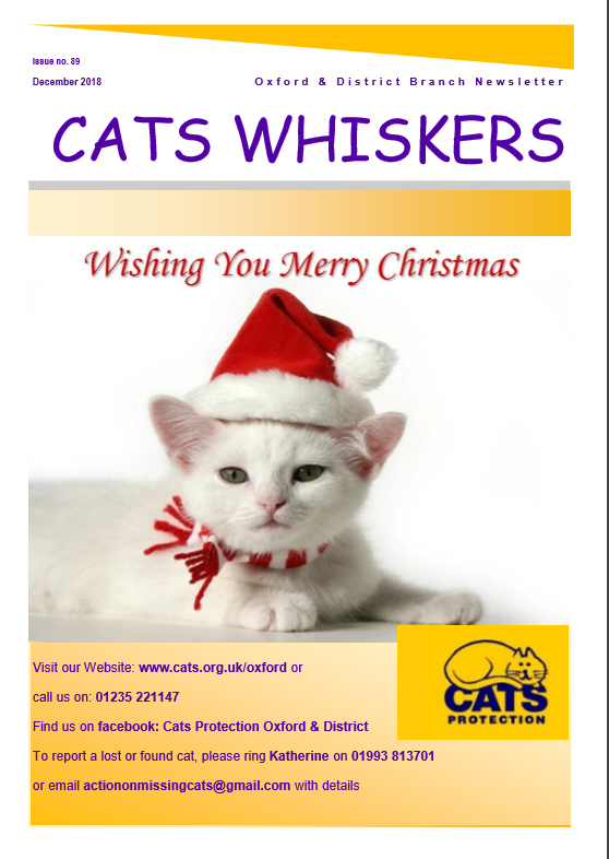 Cats Whiskers December 2018