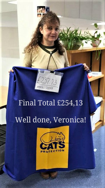 Veronica with the final total!