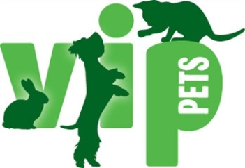 VIP pets at home logo