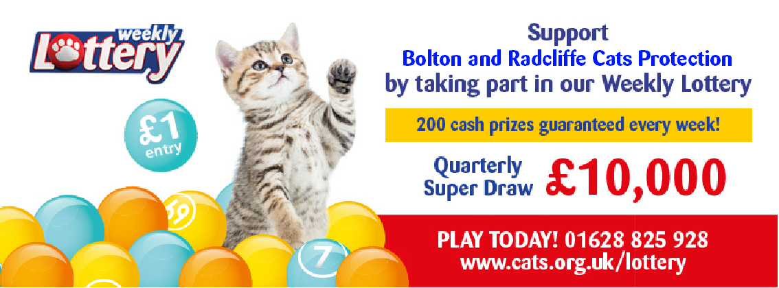 Bolton Cats Protection Lottery