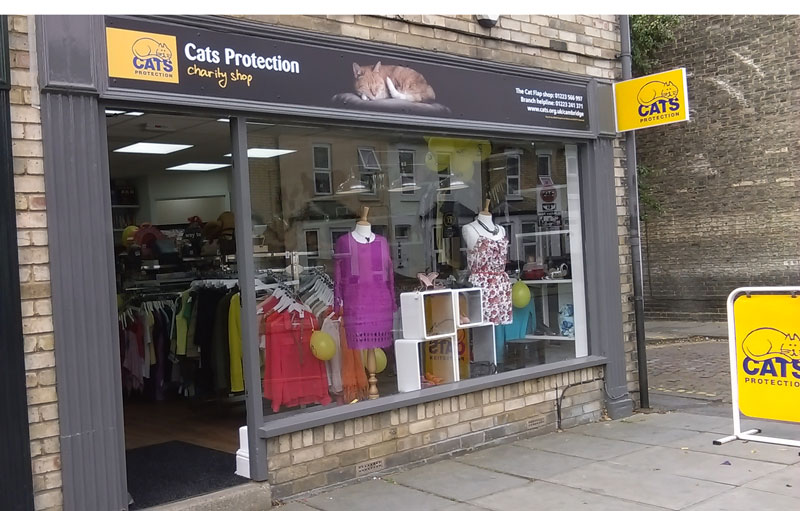 Cats Protection Charity Shop%44 Mill Road Cambridge