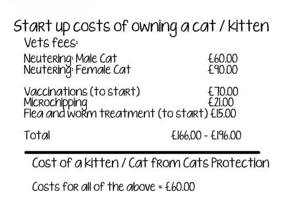 Cost of vets care