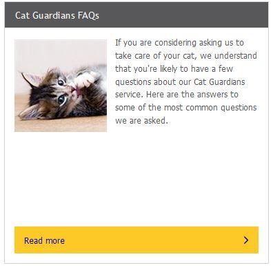 Cat Guaridans FAQ
