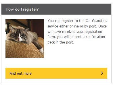 Register for Cat Guardians