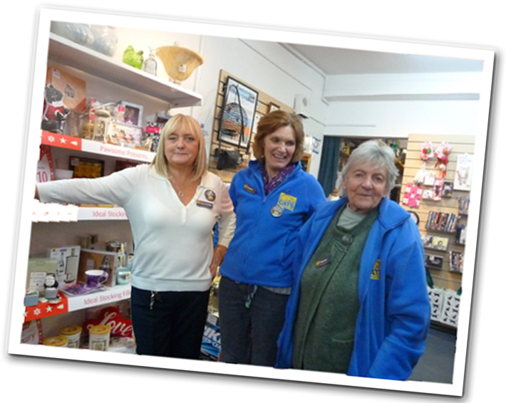 Our charity shop brilliant staff