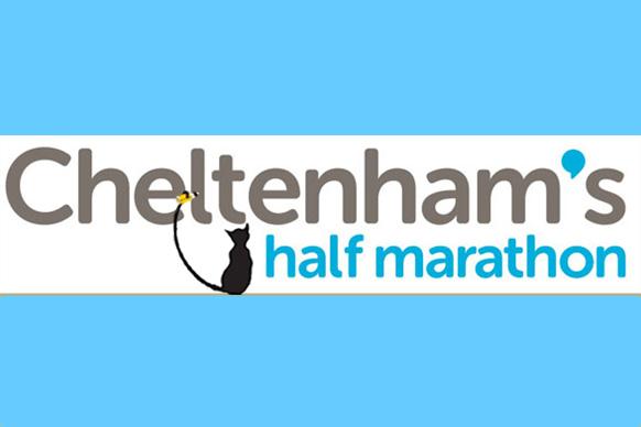 Cheltenham half marathon - a logo