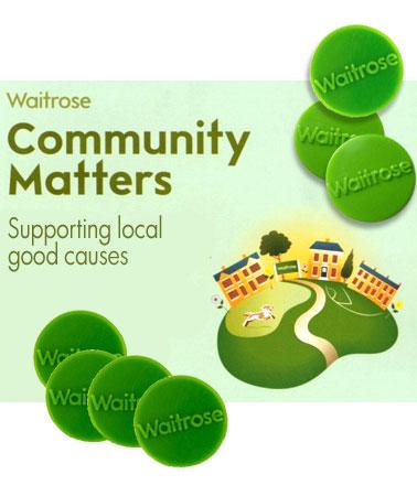 Waitrose green tokens add up £311