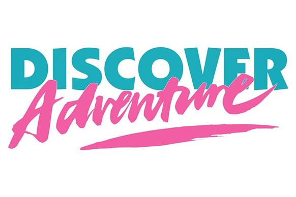 Discover adventure logo