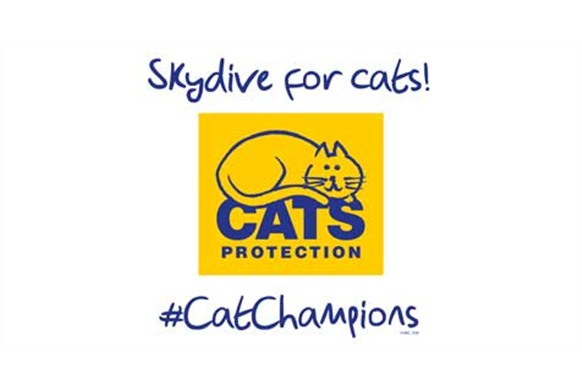 skydive for cats logo