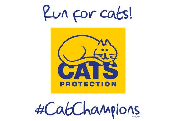 Run for cats logo events