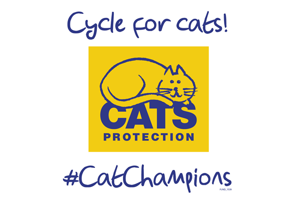 cycling for cats protection logo