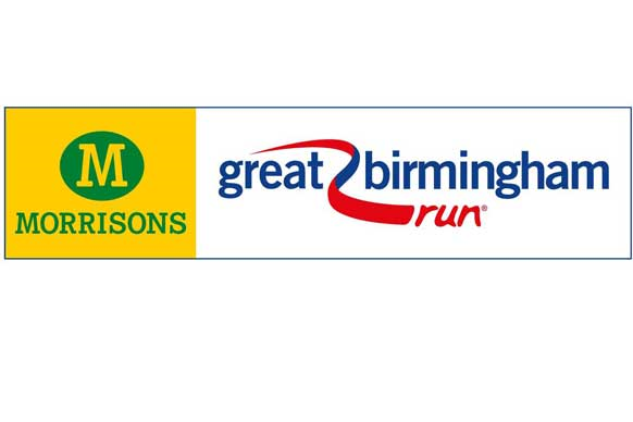 Morrisons Great Birmingham Run logo