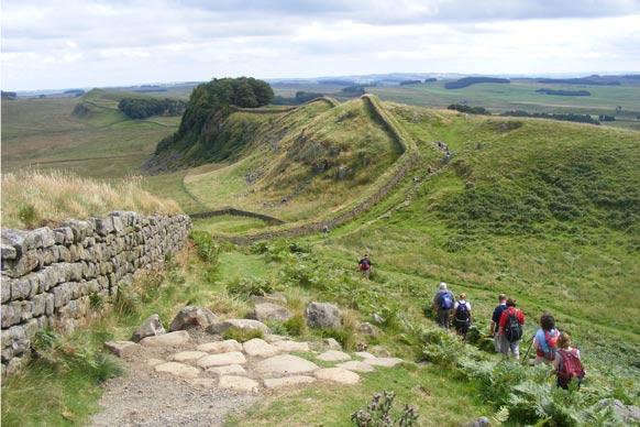 Hadrians wall participants