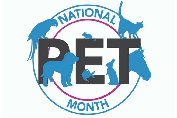 National Pet Month logo