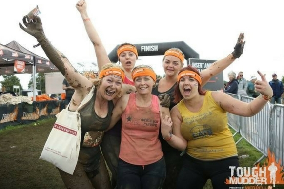 Tough Mudder group shot