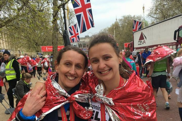 London marathon finishers