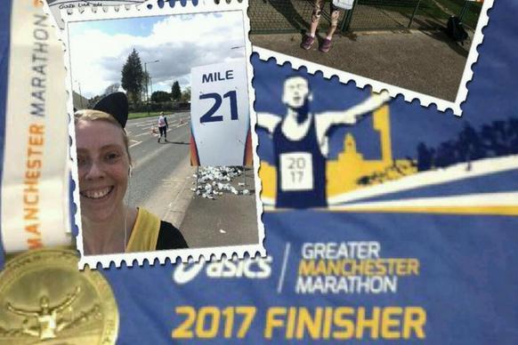 Greater Manchester marathon montage