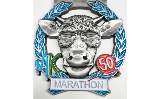 Milton Keynes marathon medal