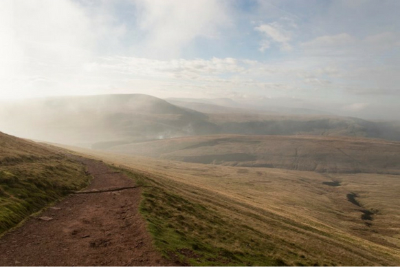 Pen Y Fan fog