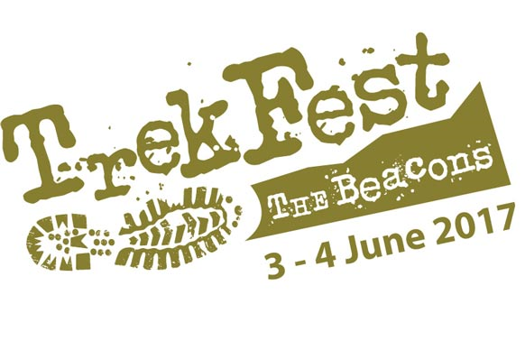 Trekfest the beacons 2017 logo