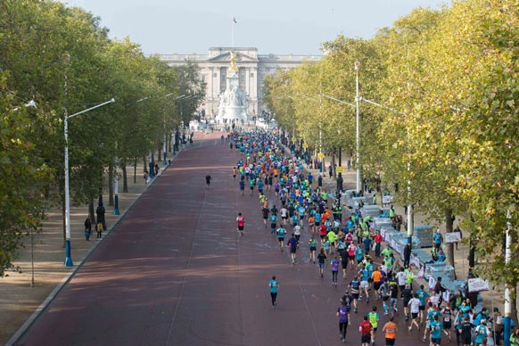 The Mall at Royal Parks Half Marathon