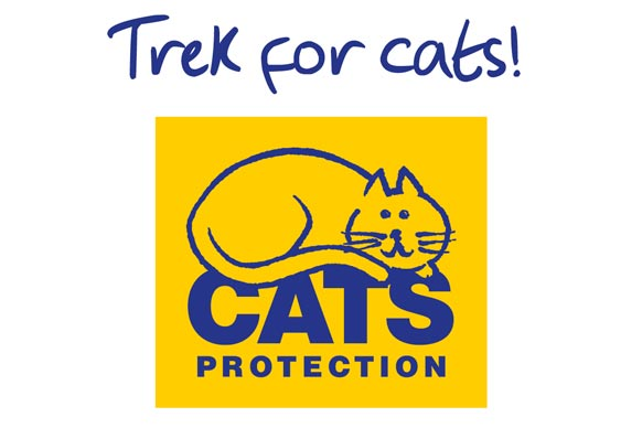 Trek for Cats Protection logo