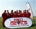 Red Devils skydive in Nottingham 2017