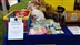 Stall and tombola at Lostock Hall Carnival